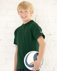 Champion T435 Youth Short Sleeve Tagless T-Shirt