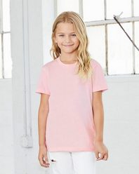 Bella + Canvas 3001Y Youth Short Sleeve Crewneck Jersey Tee