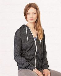 Bella + Canvas 3739 Unisex Full-Zip Hooded Sweatshirt