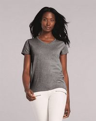 Gildan 5V00L Heavy Cotton Women's V-Neck T-Shirt