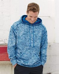 Badger 1463 Blend Polyester Fleece Performance Hooded Sweatshirt