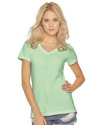Next Level 6480 Women's Sueded Short Sleeve V
