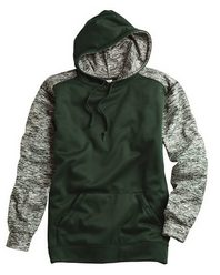 Badger 1462 Sport Blend Performance Hooded Sweatshirt