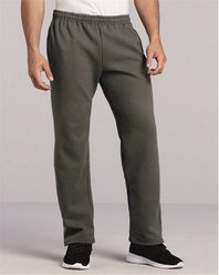 Gildan 12300 DryBlend Open Bottom Pocketed Sweatpants