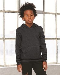 Bella + Canvas 3719Y Youth Sponge Fleece Hooded Sweatshirt
